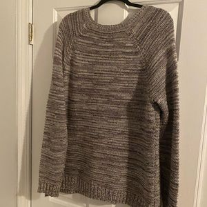 Multi colored knitted sweater